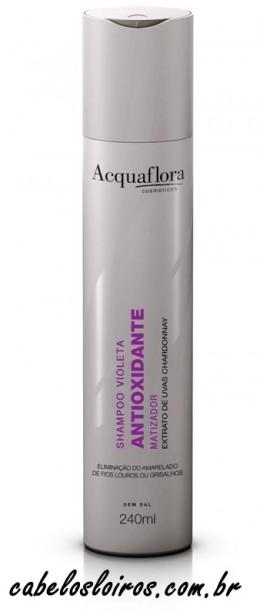 Acquaflora - Shampoo Violeta Antioxidante Matizador