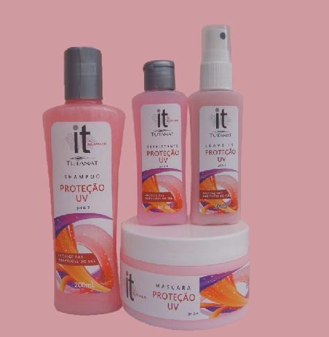 protecao UV tutanat - Linha Proteção UV Tutanat - Proteção aos fios loiros