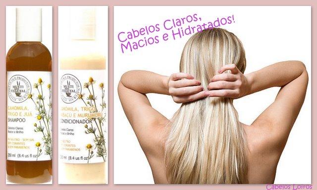 Blog104 - Shampoo e Condicionador de Camomila, Trigo e Juá-Multi Vegetal