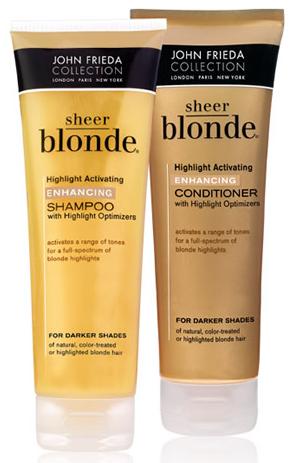 john frieda sheer blonde - CLAREANDO NO CHUVEIRO