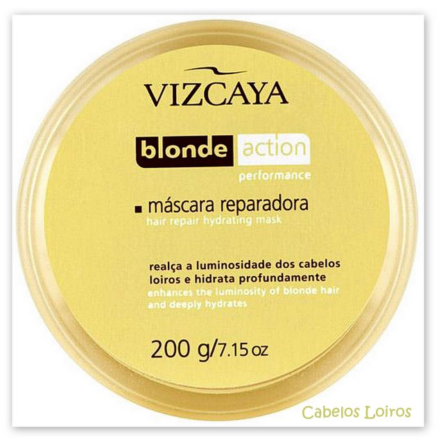 Blog119 -  Máscara Reparadora Blonde Action  - Vizcaya