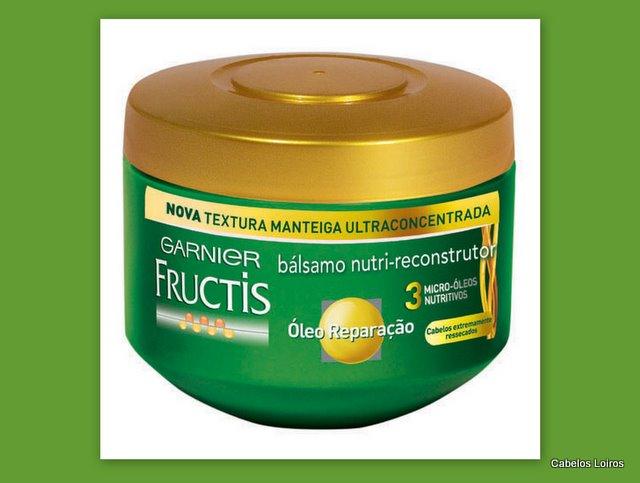 Blog73 - Bálsamo Nutri-Reconstrutor - Garnier Fructis