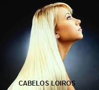 cabelo loiro - CABELOS LOIROS E LISOS