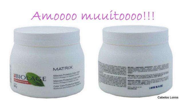 2011 10 021 - Máscara Protetora Color Care - Matrix