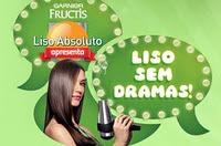 garnier fructis liso sem dramas - Garnier Fructis Liso Absoluto
