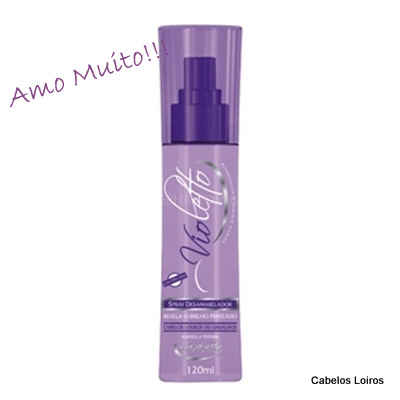 12700 3 desc 30 - Spray Desamarelador Violetto - Vitabelle