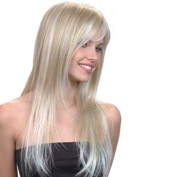 cabelos loiros acinzentados - Um Pouquinho Mais de Violeta Genciana