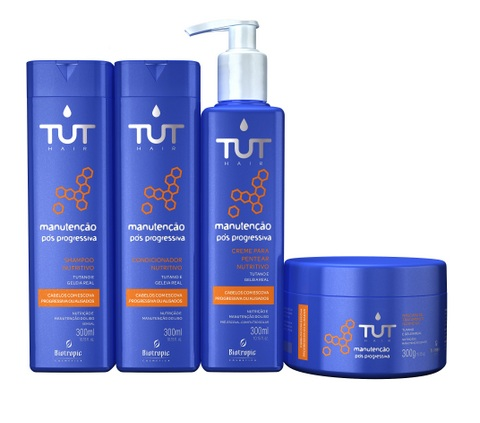 Pack Linha Manutencao alta - Tut Hair Manutenção Pós-Progressiva