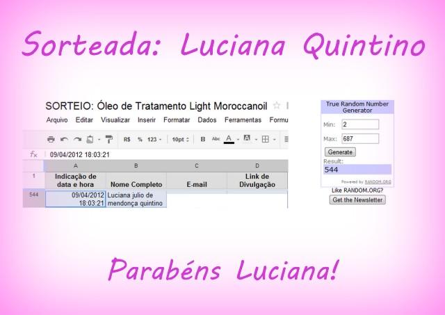 Sorteios 003 - SORTEIO: Óleo de Tratamento Light Moroccanoil - encerrado