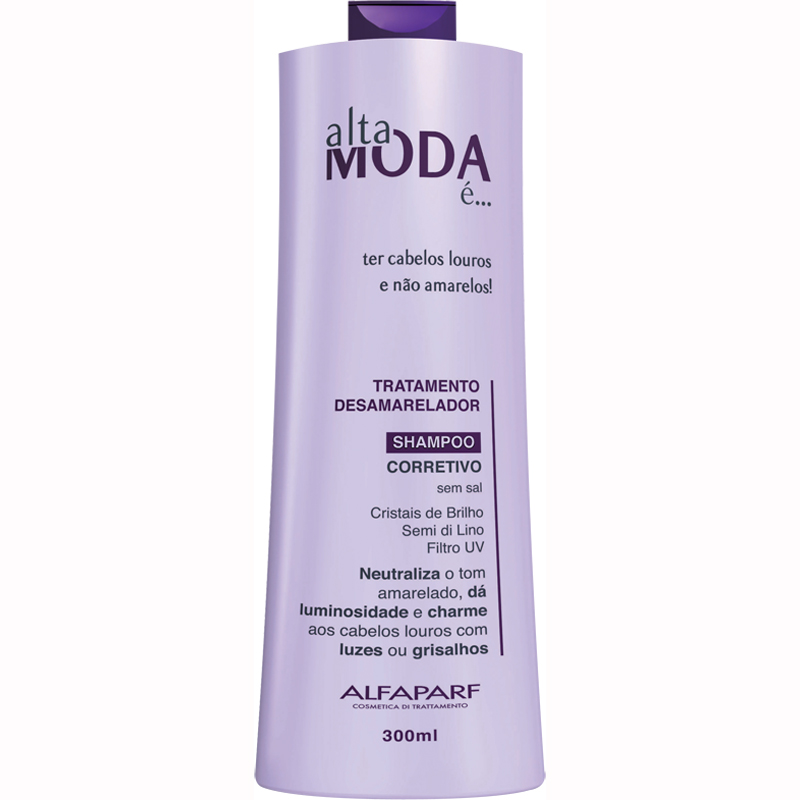 672793 Ampliada - Shampoo Desamarelador - Alta Moda