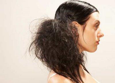cabelos danificado 1 - Pontas Espigadas: O Que Fazer?