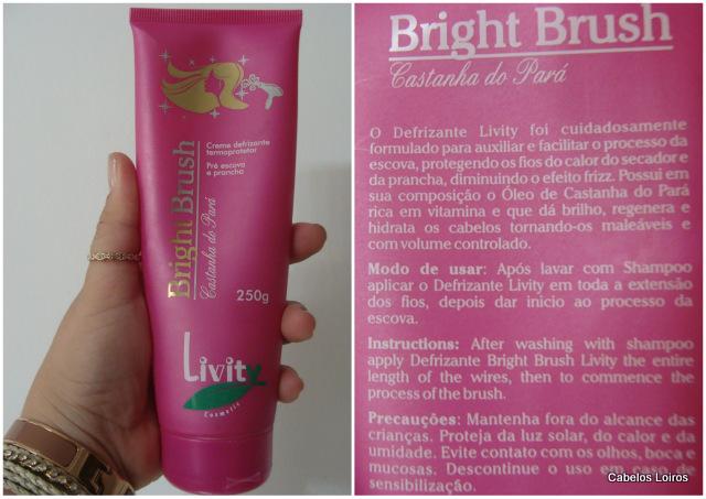 Patricinha Esperta11 - Bright Brush Creme Defrizante Termoprotetor – Livity