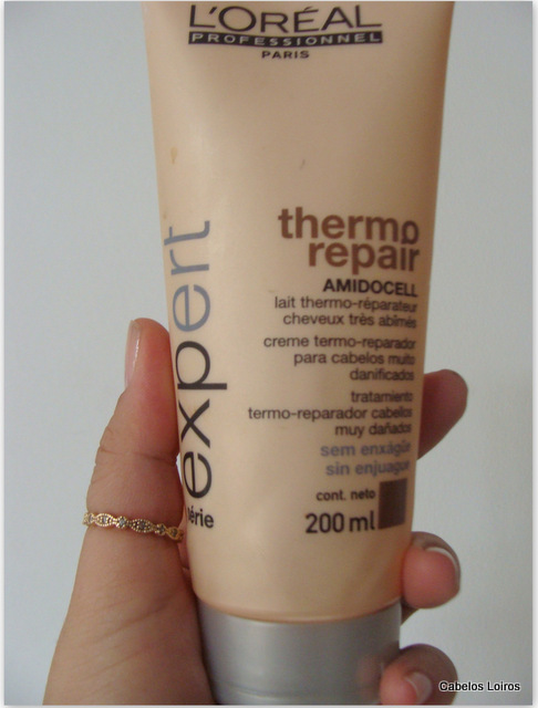 Patricinha Esperta14 - Thermo Repair - L`Oréal