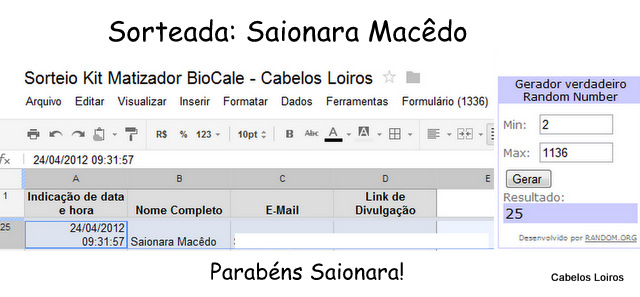 PrintScreen Files 004 - Resultado Sorteio BioCale