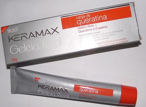 Carga de Queratina da Keramax - Misturinha Reconstrutora e Hidratante