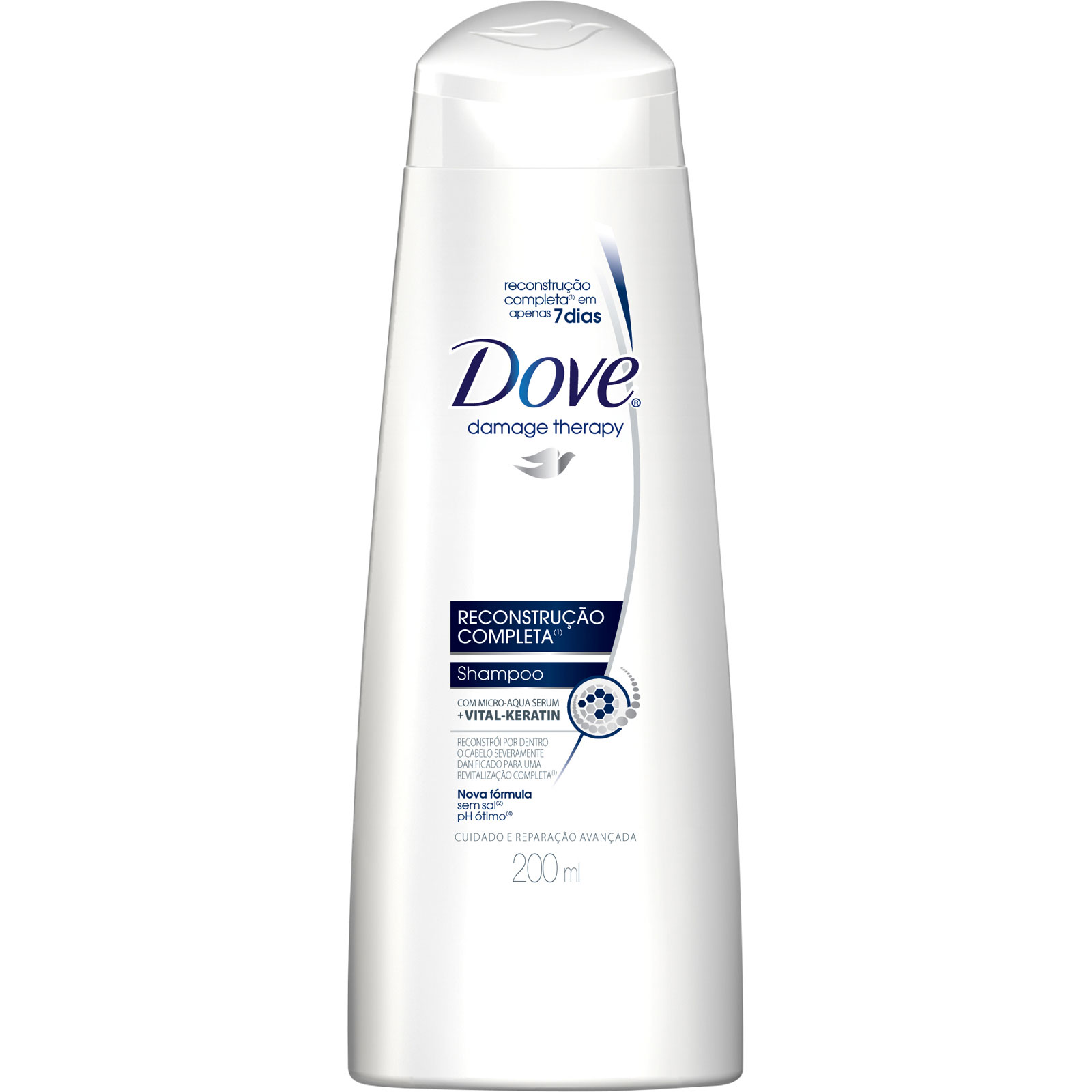 Condicionador Reconstrução Completa – Dove - Condicionador Reconstrução Completa – Dove