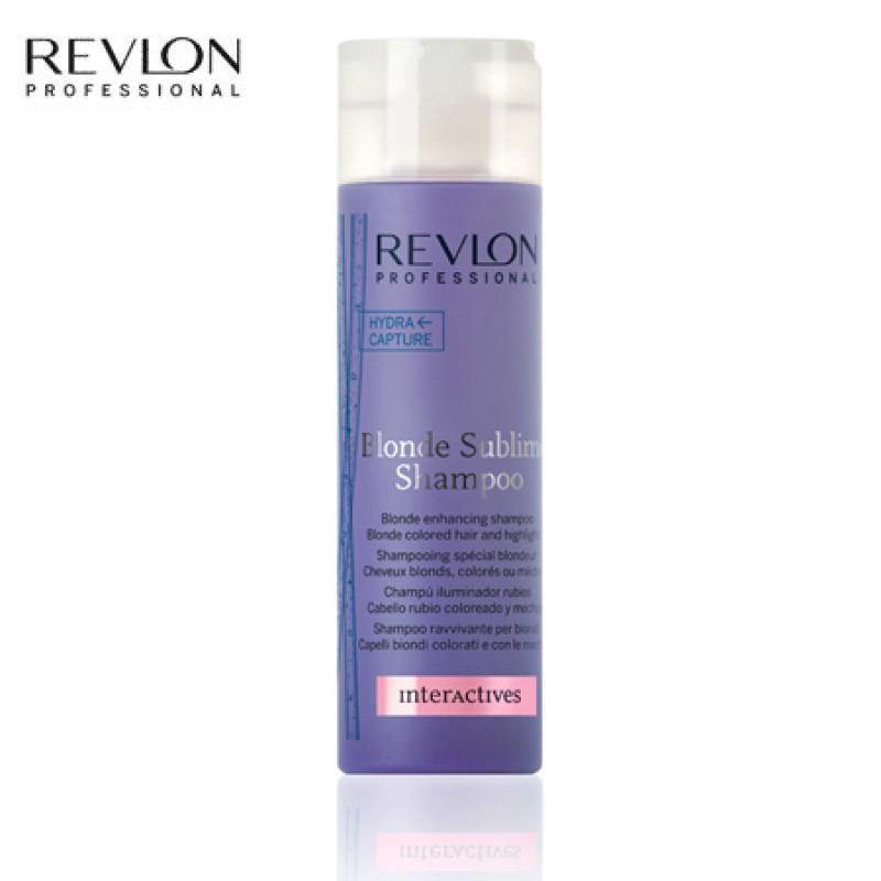Shampoo Desamarelador Revlon Blonde Sublime - Aprovado: Shampoo Desamarelador Blonde Sublime, Revlon Professional