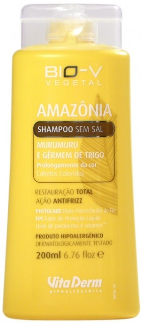 Shampoo Murumuru e Gérmen de Trigo – Vita Derm - Shampoo Murumuru e Gérmen de Trigo – Vita Derm