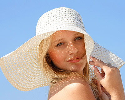 Solução Cabelos Ressecados – Chapéu de praia