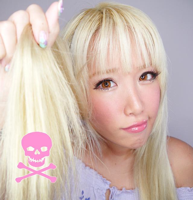 Solução Cabelos Ressecados cabelos loiros 3 - Solução Definitiva para Cabelos Ressecados – Durante a Lavagem