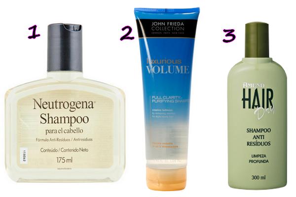 antiresiduo - Shampoo! Dicas de produtos.