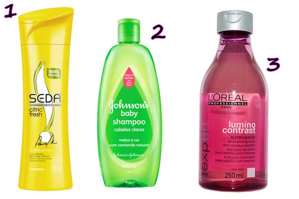 transparentes - Shampoo! Dicas de produtos.