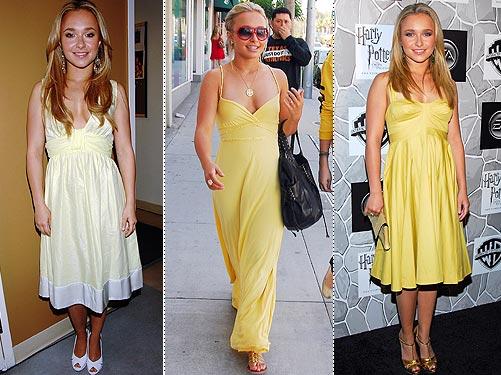 hayden panettiere Loiras Podem usar Amarelo - Loiras Podem usar Amarelo?