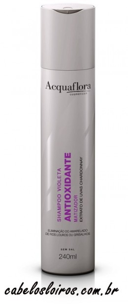 Acquaflora Shampoo Violeta Antioxidante Matizador e1355756229427 - Shampoo Violeta Antioxidante Matizador by Acquaflora