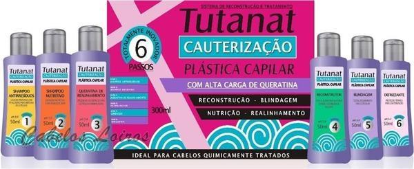 PLASTICA CAPILAR TUTANAT CABELOS SAUDAVEIS COM POUCO DINHEIRO 1 - Resenha: Cauterização e Plástica Capilar Profissional (Tutanat)
