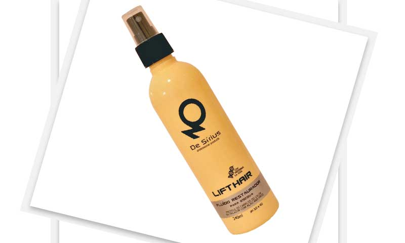 cabelos novidades hair brasil 8 - Lift Hair - Fluido Restaurador para escova (De Sírius)