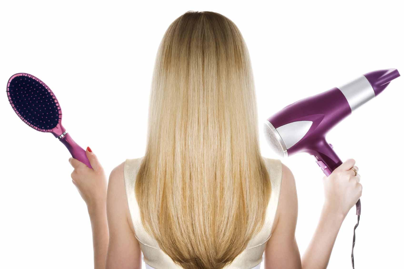 cuidados ao fazer escova adoro perfumes - Cabelo liso: efeito escova de salão
