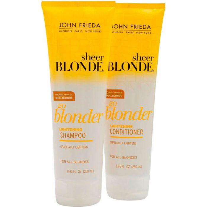 John Frieda Sheer Blonde Go Blonder Duo Kit (2 Produtos)
