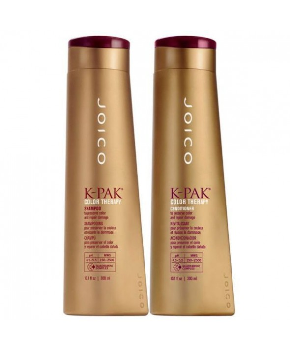 Joico K Pak Duo Kit Color Therapy Shampoo (300ml) e Color Therapy Conditioner (300ml)