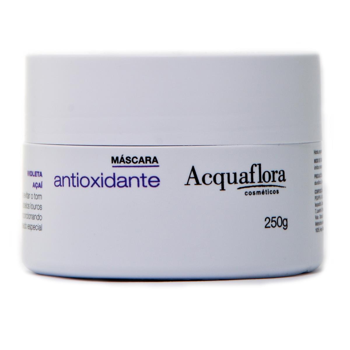 MÁSCARA ANTIOXIDANTE ACQUAFLORA - 8 Melhores produtos para cabelos loiros