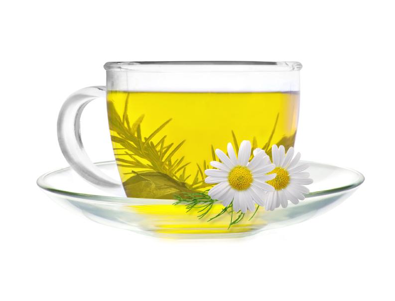 Chás de camomila