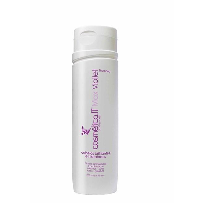 Cosm tica IT Biondo Max Viollet Shampoo 250ml - Shampoos desamareladores para cabelos loiros