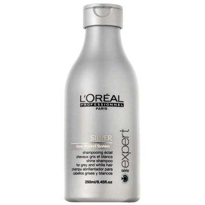 Loreal Expert Silver Shampoo 250ml - Shampoos desamareladores para cabelos loiros