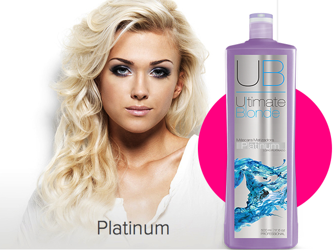mascara platinum ultimate - Ultimate blonde matizador