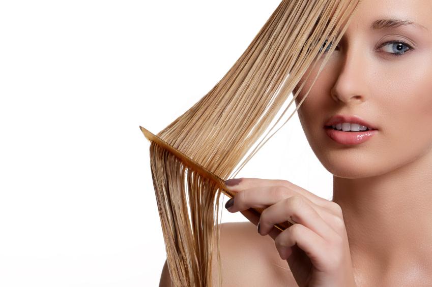 como lavar corretamente cabelos loiros