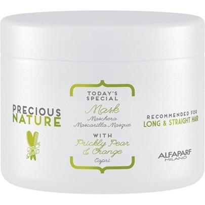 3 Alfaparf Precious Nature Máscara para Cabelos Longos e Lisos 500ml - Efeito Liso – Tratamentos