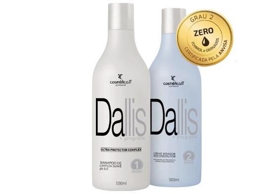 oferta progressiva dallis - Progressiva para cabelos loiros com 30% desconto