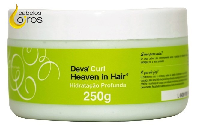 Deva Curl Heave in Hair Mascara de Hidratacao 250g - Heaven in Hair Como usar