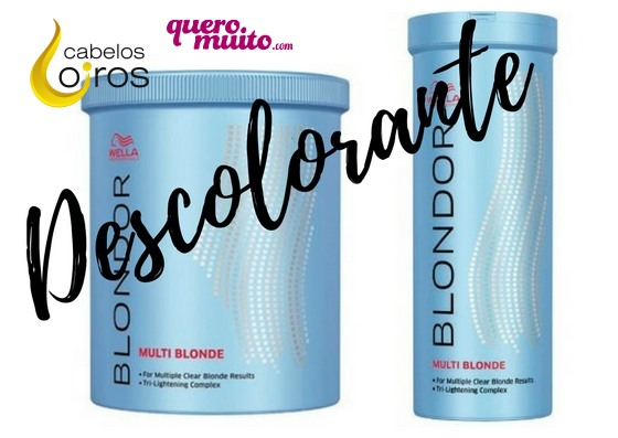 descolorante 1 - Wella Blondor Pó Descolorante como usar