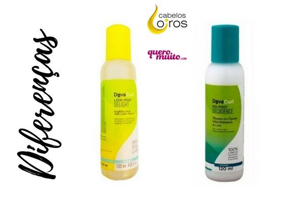 diferenças shampoo no poo e low poo - Shampoo No Poo ou Low Poo Deva Curl