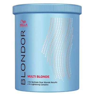 Wella Blondor Multi Blonde Powder Po Descolorante 800g - Como fazer a descoloração em casa?