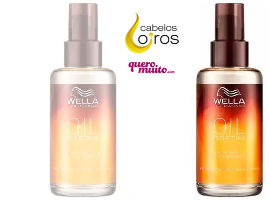 Wella Oil Reflections Oleo de Tratamento 100ml - Wella Oil Reflections  como usar