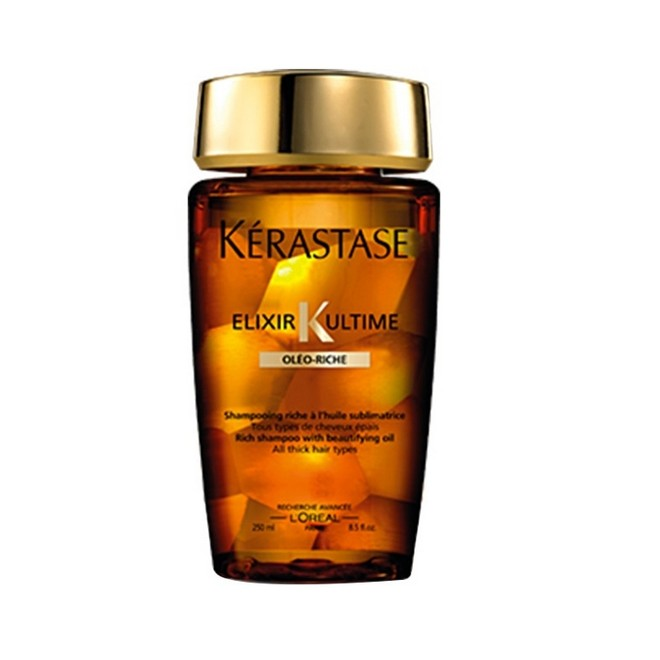 Kerastase Elixir Ultime Shampoo Oleo Riche 250ml - Kérastase Outlet 70% OFF - Estoque Limitado