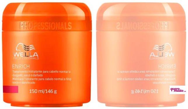 Wella Enrich Mascara para Cabelos Normais 150ml - Como disfarçar os cabelos brancos na raiz?