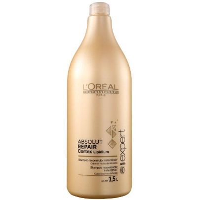 Loreal Absolut Repair Lipidium Shampoo 1500ml - Loreal Outlet 70% OFF - Estoque Limitado