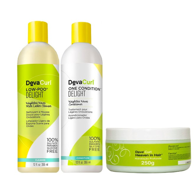 Deva Curl Delight Kit Shampoo Low Poo 355ml e Condicionador One 355ml e Mascara Heave 250ml  - Como abaixar o pH do Cabelo após a Coloração?